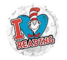 """17""""PKG CHA DR SEUSS HATS OFF TO READING"""