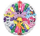 "17""PKG CHA MY LITTLE PONY GANG"