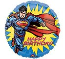 "17""PKG HBD SUPERMAN BIRTHDAY"