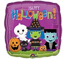 "17""HAL HALLOWEEN FRIENDS SQUARE"