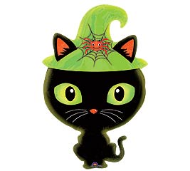 "23""HAL BLACK KITTY JUNIOR SHAPE"