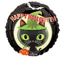 "17"" HALLOWEEN BLACK KITTY"