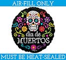 "9""FLAT SPANISH SUGAR SKULL MINI SHAPE"