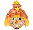 """14""""INFLATED FAL HAPPY SCARECROW"""