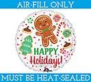 "4""FLAT XMA HOLIDAY COOKIES"