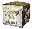 "15""PKG HNY CUBEZ WHITE GOLD  BLACK"