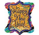 "27""PKG HNY NEW YEAR RUFFLE FRAME"
