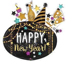 """30""""PKG HNY FESTIVE NEW YEAR"""