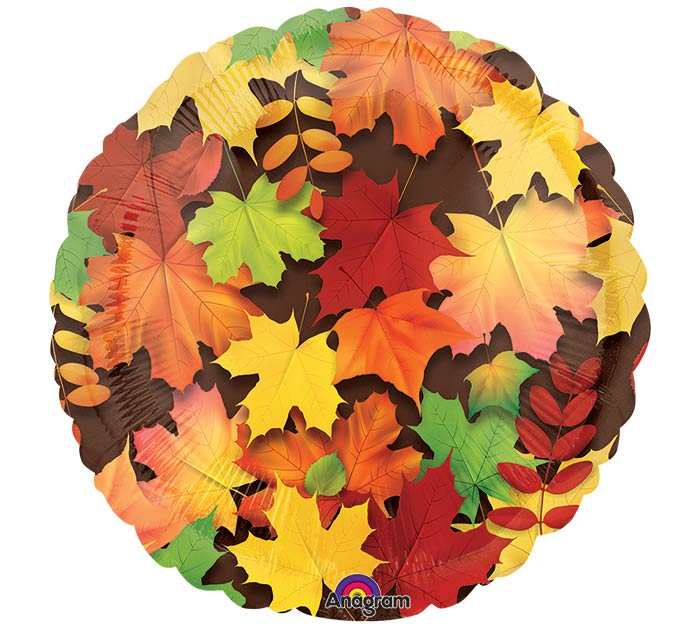 """17""""FAL COLORFUL LEAVES"""