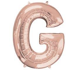 "32""PKG SHA LETTER G ROSE GOLD"
