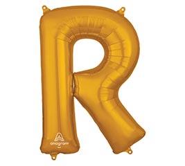 "32""PKG SHA LETTER R GOLD"
