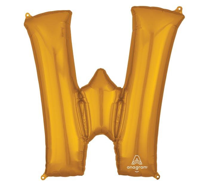 "33""PKG SHA LETTER W GOLD"