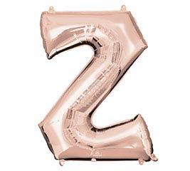 """33""""PKG SHA LETTER Z ROSE GOLD"""