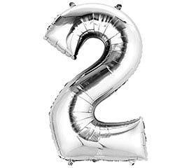 """33""""PKG SHA NUMBER 2 SILVER"""