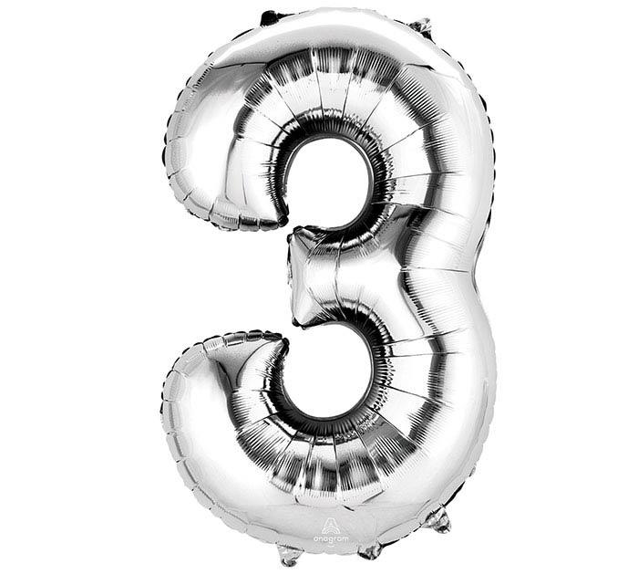 """34""""PKG NUMBER 3 SILVER"""