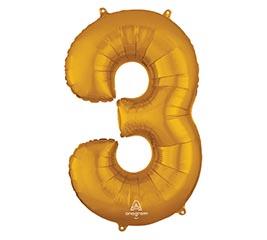 """34""""PKG SHA NUMBER 3 GOLD"""