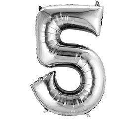 """33""""PKG SHA NUMBER 5 SILVER"""
