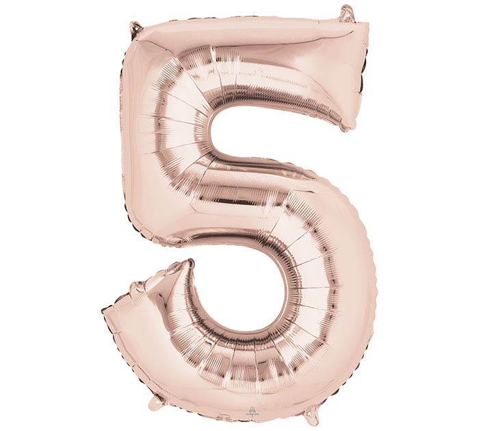 """33""""PKG SHA NUMBER 5 ROSE GOLD"""