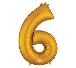 """34""""PKG SHA NUMBER 6 GOLD"""