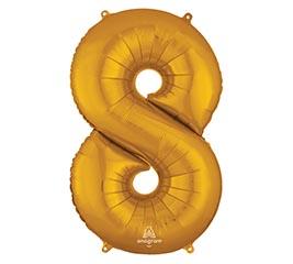 """34""""PKG SHA NUMBER 8 GOLD"""