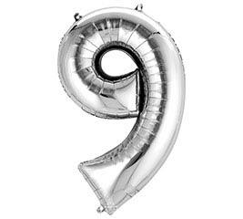 """34""""PKG SHA NUMBER 9 SILVER"""