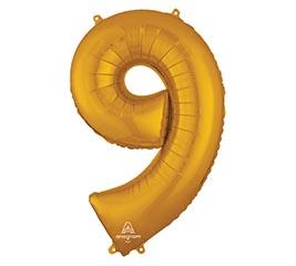 """34""""PKG SHA NUMBER 9 GOLD"""