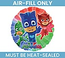 "9""FLAT PJ MASKS AIR FILL ONLY BALLOON"