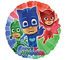 "9""INFLATED CHA PJ MASKS"