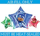PJ MASKS MINI SHAPE MUST FILL WITH AIR