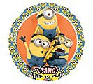 "28""PKG CHA DESPICABLE ME SING A TUNE"