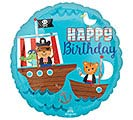 "17""PKG HBD BIRTHDAY PIRATE SHIP"