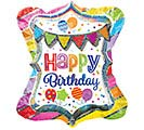 "27""PKG HBD BRIGHT PARTY MULTI-BALLOON"