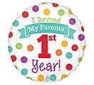 "17""PKG BABY'S 1ST YEAR"