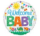 "17""PKG BBY WELCOME BABY CUTE ICONS"
