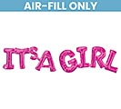 "42""PKG IT'S A GIRL PHRASE"