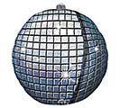 "15""PKG GEN DISCO BALL ULTRASHAPE"