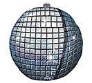 "15""PKG GEN DISCO BALL ULTRASHAPE"