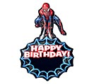 "34""PKG HBD SPIDER-MAN PERSONALIZED"