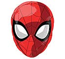 "17""PKG CHA SPIDER-MAN ANIMATED JR SHAPE"