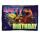 "16""PKG HBD JURASSIC WORLD JR SHAPE"