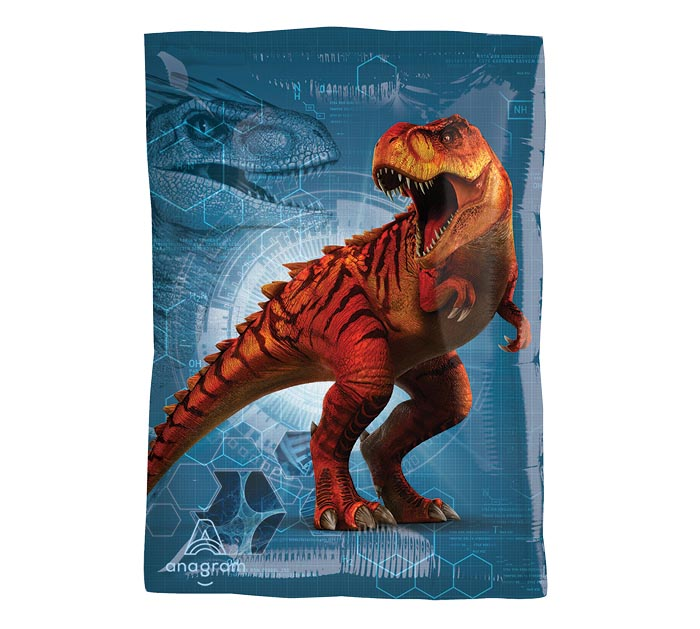 "17""PKG CHA JURASSIC WORLD JR SHAPE"