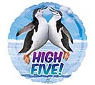 "17""PKG AVANTI HIGH FIVE PENGUINS"