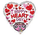 "29""PKG LUV HAPPY HEART DAY SING A TUNE"