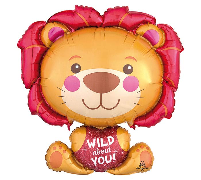"28""PKG LUV WILD ABOUT YOU LION"