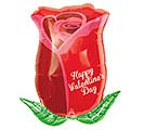 "18""HVD VALENTINE ROSE BUD JR SHAPE"