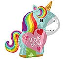 "21""LUV UNICORN LOVE JR SHAPE"