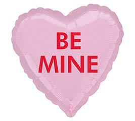 """17""""VAL BE MINE CANDY HEART"""