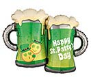 "32""PKG STP ST PATTY'S EMOTICON MUGS"