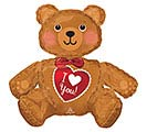 "28""PKG ILY LARGE SITTING BEAR"