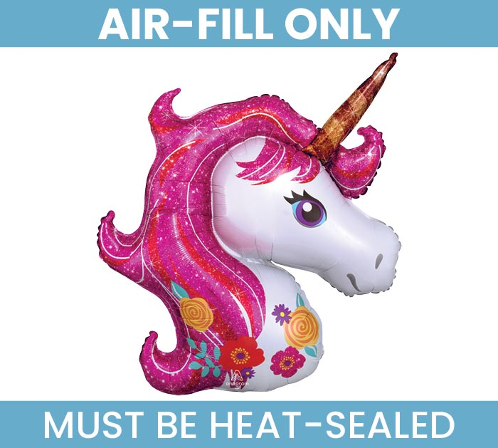 """14""""FLAT UNICORN MUST FILL WITH AIR ONLY"""